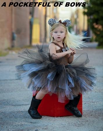 sc 1 st  A POCKETFUL OF BOWS & Cheetah Cat Tutu Dress Costume Toddler Size
