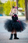 Black Cat Tutu Dress Costume Toddler