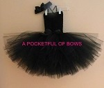 Black Tutu Dress for Toddlers and Babies