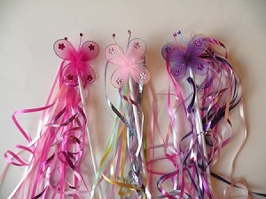 Butterfly Princess Wands