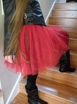 Red Tutu Skirt Adult and Teen