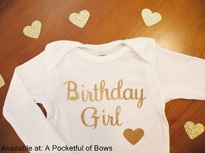 Birthday Girl Body Suit  or Toddler Tee Shirt