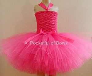 Hot Pink Tutu Dress Girls Sizes