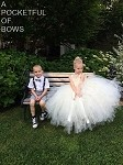 Long Ivory Flower Girl Dress, Girls Ivory Ball Gown