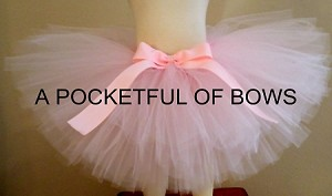 Light Pink Blush Tutu Skirt For Toddler Girls and Babies