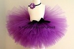 Purple Tutu Skirt for Babies and  Girls