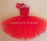Red Tutu Dress Toddler
