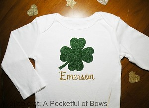 Saint Patrick's Day Baby BodySuit or Toddler Tee