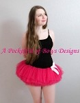 Hot Pink Teen Adult Tutu, Runners Tutu