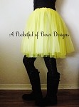 Yellow Teen Adult Tutu