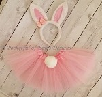 Easter Bunny Tutu Outfit with Matching Bunny Ears