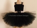 Black Formal Dress with Sparkle Sash Newborn Toddler Girls Sizes