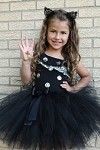 Black Halloween Tutu Skirt