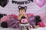 Black Cat Birthday Tutu Dress Costume