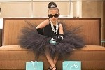 Girls Black Couture Tutu Dress