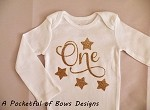 Twinkle Twinkle Birthday Body Suit or Toddler Tee Shirt