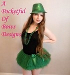 Green Teen Adult Tutu Skirt, St Patrick's Day