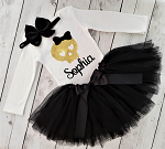 Pirate Costume Tutu Outfit Baby Toddler and Girls
