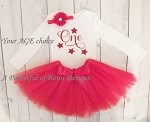 Twinkle Little Star Birthday Girl  Tutu Outfit