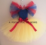 Snow White Tutu Dress Costume