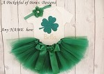 St Patricks Day Baby Girl Outfit, Toddler Girl St Patricks Tutu