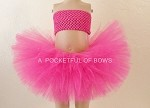 Hot Pink Tutu Skirt with Pretty Bow