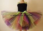 Witch Tutu Dress Costume,  Girls Halloween Witch Costume