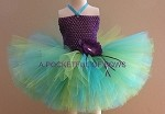 Mermaid Couture Tutu Dress Costume, Toddler Mermaid Birthday