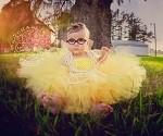 Sunflower Yellow Tutu Dress Toddler